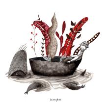 Mi Proyecto del curso: Introducción a la ilustración infantil. Un proyecto de Ilustración de laninaplanta - 16.08.2019
