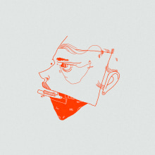 FACE collection Digital Illustration. A Illustration, Art Direction, Drawing, Digital illustration, and Portrait illustration project by andjka - 08.22.2019