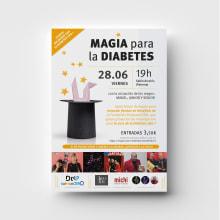 CARTELES DiabetesCERO. Un proyecto de Diseño de carteles de Chary Esteve Vargas - 20.05.2019