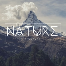 Nature. A Graphic Design, T, pograph, and Web Design project by Zamara Reyes - 08.29.2019
