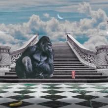 Mi Proyecto del curso: Gorila Vintage . Un proyecto de Bellas Artes, Diseño gráfico y Creatividad de Eduardo Aburto González - 31.08.2019