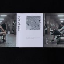 two as one — Fanzine fotográfico. A Design, Fotografie, Kunstleitung, Designverwaltung, Verlagsdesign, Grafikdesign, Produktdesign, Cop, writing, Kreativität und Artistische Fotografie project by Rubén C. Martín - 13.07.2019