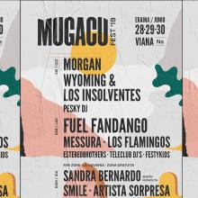 MUGACU fest 2019. Um projeto de Direção de arte, Design gráfico e Design de logotipo de Clara Briones Vedia - 04.09.2019