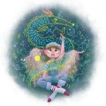 Mi Proyecto del curso: Pinceles y pixeles: introducción a la pintura digital en Photoshop. Un projet de Illustration, Illustration numérique et Illustration jeunesse de Marta Elza - 10.09.2019