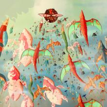 Migración . Un proyecto de Dibujo, Ilustración e Ilustración digital de Alex Shagu - 11.09.2019