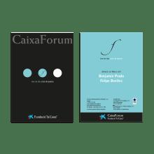 Ciclo de Poesía de CaixaForum. A Design, Advertising, Installations, Art Direction, Br, ing, Identit, Events, Graphic Design, T, pograph, Creativit, and Poster Design project by Marta Josa - 12.31.2004