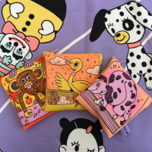 Post it dont trow it . A Illustration, Digitale Illustration, Textile Illustration und Kinderillustration project by Maria Elena Ramirez Ortega - 12.09.2019