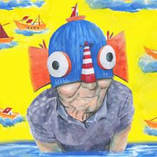 La Tia Feliça. Un proyecto de Ilustración, Pintura y Pintura acrílica de Lara Gombau - 18.09.2019
