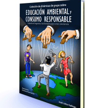 Colección de dinámicas de grupo sobre educación ambiental y consumo responsable. Un proyecto de Diseño editorial de Antonio de Haro Garzón - 16.02.2016