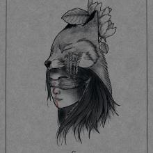 Mi Proyecto del curso: Diseño e ilustración digital de tatuajes con Procreate. Un proyecto de Ilustración digital de Carlos Antonio Salazar Navarrete - 22.09.2019