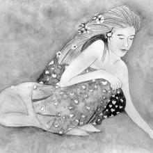 La Meditación. Un proyecto de Ilustración de Laura Bello - 24.09.2019