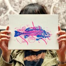 Risografias . Un proyecto de Diseño, Diseño gráfico, Tipografía, Collage, Caligrafía, Arte urbano, Lettering y Creatividad de TECK24 - 26.09.2019