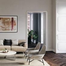 Apartment Design. Um projeto de Design, 3D, Arquitetura, Design de móveis, Arquitetura de interiores, Design de produtos e Decoração de interiores de Víctor Montes - 26.09.2019
