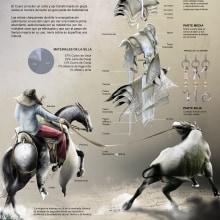 HERENCIA DE CUERO Y TIENTO. Un proyecto de Infografía de JOSÉ EMILIANO ANDRADE ORELLANA - 27.09.2019