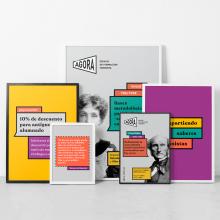 Ágora, espacio de formación feminista. A Illustration, Br, ing und Identität, Bildung, Grafikdesign und Logodesign project by Verbena - 02.10.2019