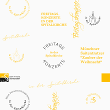 Schwandorf Tourismus - Conciertos de Viernes. A Design, Kunstleitung und Prägung project by The Responsible Creatives - 01.12.2018