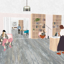 Creative studios - interior studies. A Architecture & Interior Design project by Klaudia Kosarko - 06.10.2018