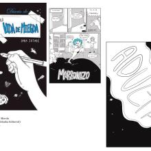 """Cómic """"Diario de una Vide de Mierda"""". A Illustration, Comic, Digital illustration, and Cartoon project by Sara Jotabé - 03.09.2017"""