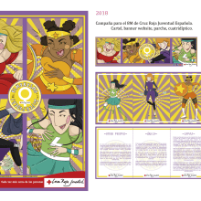 Campaña 8M . A Design, Illustration, Comic, and Poster Design project by Sara Jotabé - 11.09.2017