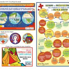 Campaña Elecciones Generales 2019, Cruz Roja Juventud. A Design, Illustration, Poster Design, and Digital illustration project by Sara Jotabé - 09.01.2019