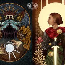 Guardianes. A Illustration, Malerei, Bleistiftzeichnung, Zeichnung, Digitale Illustration, Videospiele und Concept Art project by Sergio Peña - 13.10.2019