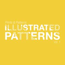 Illustrated Patterns Vol.1. A Illustration, Musterdesign, Vektorillustration, Modedesign, Digitale Illustration und Textile Illustration project by Kropsiland - 15.10.2019