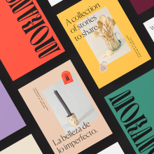 Morano Contemporary Craft. A Illustration, Br, ing, Identit, Web Design, Cop, writing, Icon design, Stor, and telling project by Imperfecto Estudio - 05.01.2019
