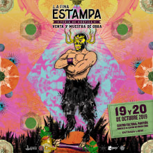 Fina Estampa 2019. A Artistic drawing & Illustration project by Zoveck Estudio - 10.18.2019
