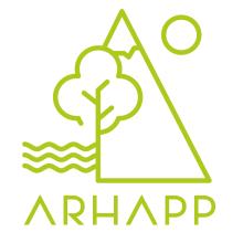ARHAPP. Un proyecto de Dirección de arte, Br, ing e Identidad, Diseño de logotipos y Diseño mobile de Oscar Gómez Trigo - 21.10.2019