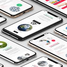 ECO TIPS. Un proyecto de UI / UX, Diseño Web y Diseño mobile de Julio Pinilla - 21.10.2019