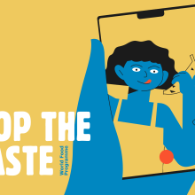 WFP -#StopTheWaste. A 3D, 2D Animation, and Art Direction project by Andrea Gendusa - 10.23.2019