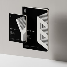OXYGEN. Un proyecto de Dirección de arte, Br, ing e Identidad y Diseño de logotipos de Julio Pinilla - 25.10.2019