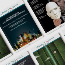 Revista Economist & Jurist. A Editorial Design project by Laura Alonso Araguas - 01.01.2019