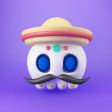 Filtro Instagram. Un proyecto de Diseño de personajes 3D de Eduardo Fajardo - 28.10.2019