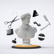 House of Grooming - Elements. Un proyecto de 3D de Eduardo Fajardo - 29.10.2019