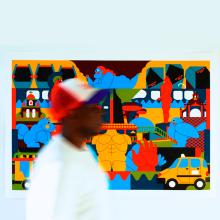 FACTORY LOFTS. Um projeto de Ilustração, Arte urbana e Pintura Acrílica de Jhonny Núñez - 30.10.2019
