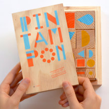 Pack de sellos Pin Tam Pon. A Kunstleitung und Spielzeugdesign project by Pin Tam Pon - 01.05.2015