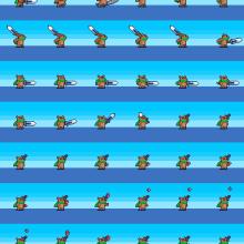 Andrés Nieto curso: Animación de personajes en pixel art para videojuegos . Un proyecto de Animación 2D y Pixel art de anietocaceres1 - 04.11.2019