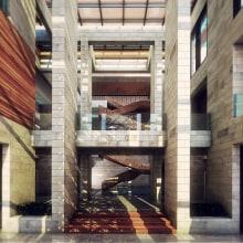 Kuwait Ambassador Residence. Dakar. Um projeto de Arquitetura, Paisagismo e Modelagem 3D de MOHAMMAD ABBAS - 12.08.2015
