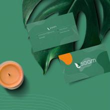 Branding soam. Um projeto de Design, Direção de arte, Br, ing e Identidade, Design gráfico e Design de logotipo de Juan Carrillo - 20.05.2019