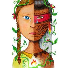 Greta e Olhos Atentos. Un proyecto de Ilustración de Gio e Doug - 26.09.2019