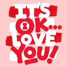It's OK. A Lettering project by Sindy Ethel - 01.01.2019
