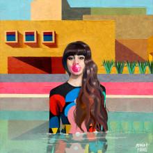 Agua y color.. Un proyecto de Ilustración e Ilustración digital de Alex de Marcos García - 13.11.2019