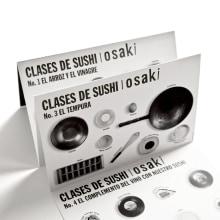 Clases de sushi / Osaki. A Br, ing und Identität, Grafikdesign, Cop, writing und Produktfotografie project by Arutza Rico Onzaga - 14.07.2012