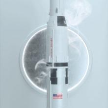 Saturn V. Un proyecto de 3D, Modelado 3D y Diseño 3D de Oscar Fernando De Jesús Ríos - 14.11.2019