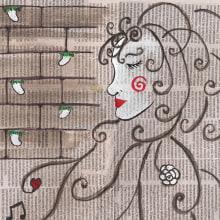 Mi Proyecto del curso: Introducción a la ilustración infantil (La bella y la bestia). Un proyecto de Collage, Ilustración infantil y Pintura a la acuarela de Isi Cano - 15.11.2019
