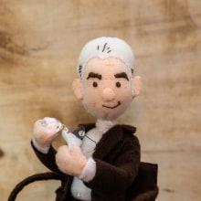 Jacques Lacan - psicoanalisis . Un proyecto de Diseño de personajes, Creatividad y Costura de Andrea Catalina Pérez Cuá - 02.07.2019