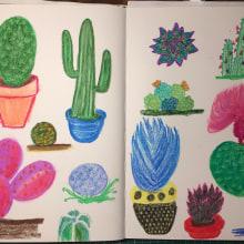Mi Proyecto del curso: Técnicas de ilustración para desbloquear tu https://www.instagram.com/tv/By_oU1ojgRw/. A Illustration project by Nuria Rodriguez - 19.11.2019