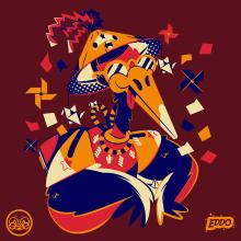 ORIGAMI . Un proyecto de Diseño, Ilustración, Diseño de personajes, Diseño gráfico, Ilustración vectorial, Instagram y Diseño digital de Ed,Edd & Eddo - 26.11.2019