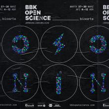 BBK OPEN SCIENCE - Jornadas Bioarte. Um projeto de Design gráfico e Web design de Clara Briones Vedia - 27.11.2019